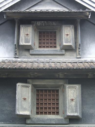 中濱 家の蔵 ( 窓詳細 )