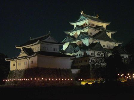 名古屋城(夜景)