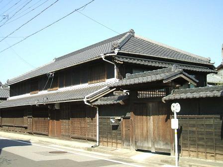 富士松の民家
