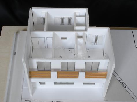 3住宅模型